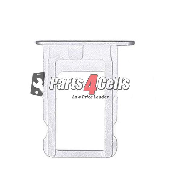 iPhone 5 Phone Sim Tray Silver-Parts4Cells