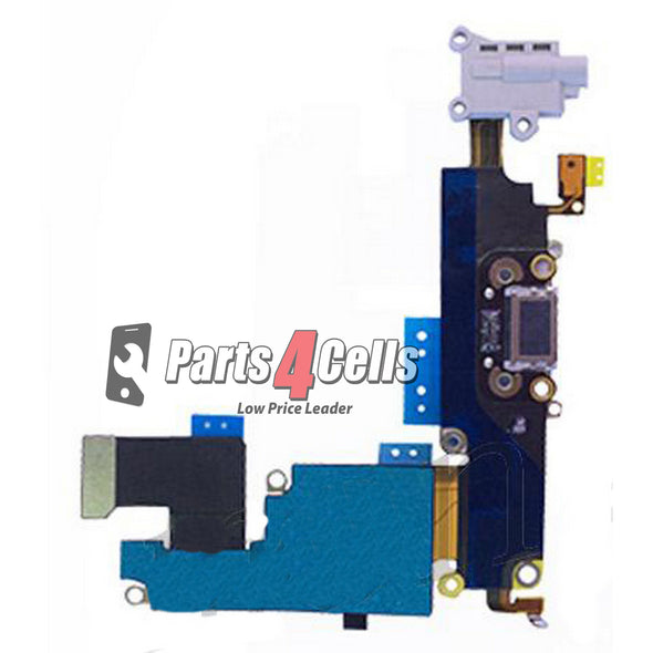 iPhone 6 Plus Phone Charging Port Best Quality White-Parts4Cells