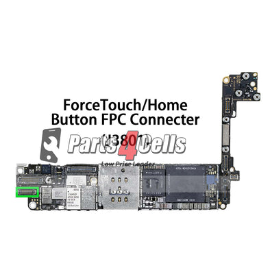 iPhone 7 Home Button Connector Port Onboard - Parts4Cells