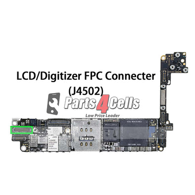 iPhone 7 LCD Digitizer Connector Port Onboard