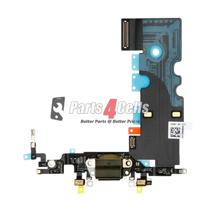 iPhone 8 Charging Port Flex Black-Parts4Cells