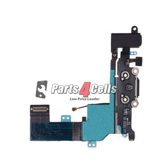 iPhone SE Charging Port Flex Black-Parts4Cells