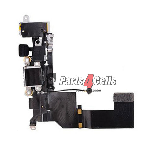 iPhone 5 Phone Charging Port Flex White-Parts4Cells