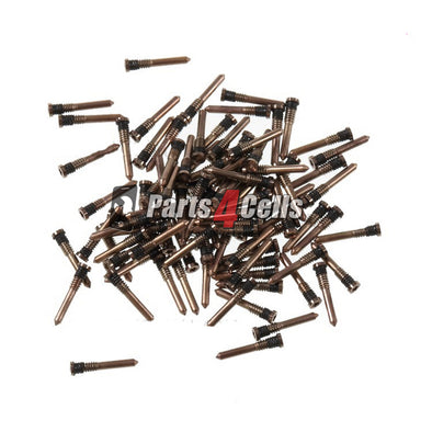 iPhone XS Screws Bottom Gold 100 Pack - Wholesale Parts