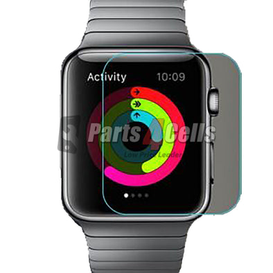 iWatch Series 4 44MM Tempered Glass In Retail Packaging Black