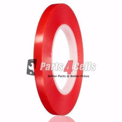 Double-Sided Red Tape Adhesive 4mm