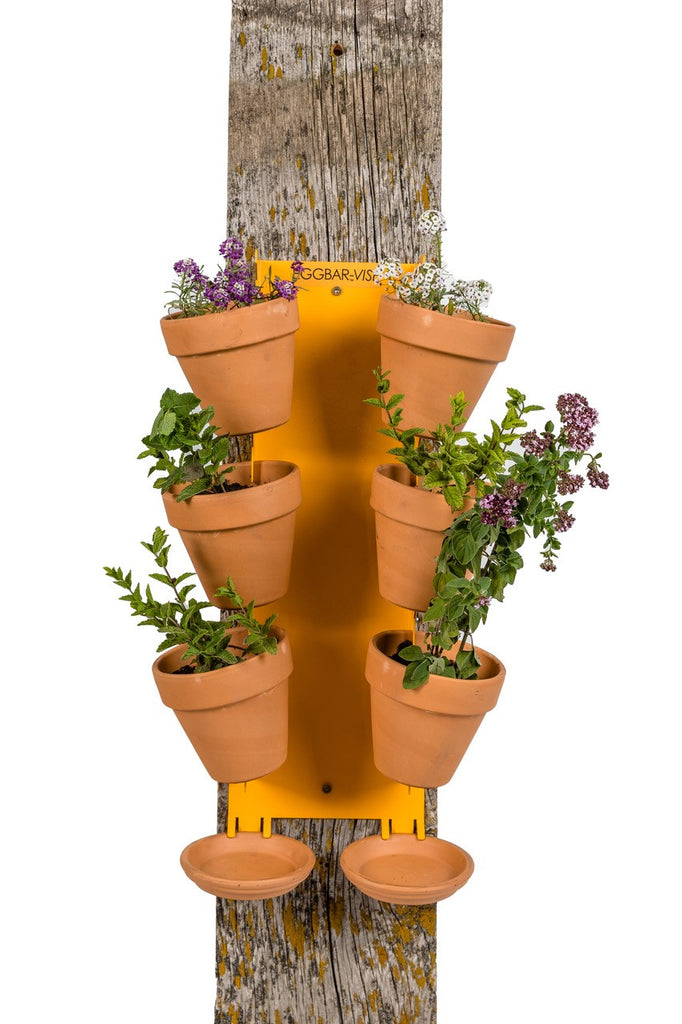 Vertical Garden Pot Holder 6 place