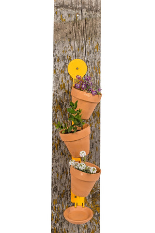 Vertical Garden Pot holder 3 place