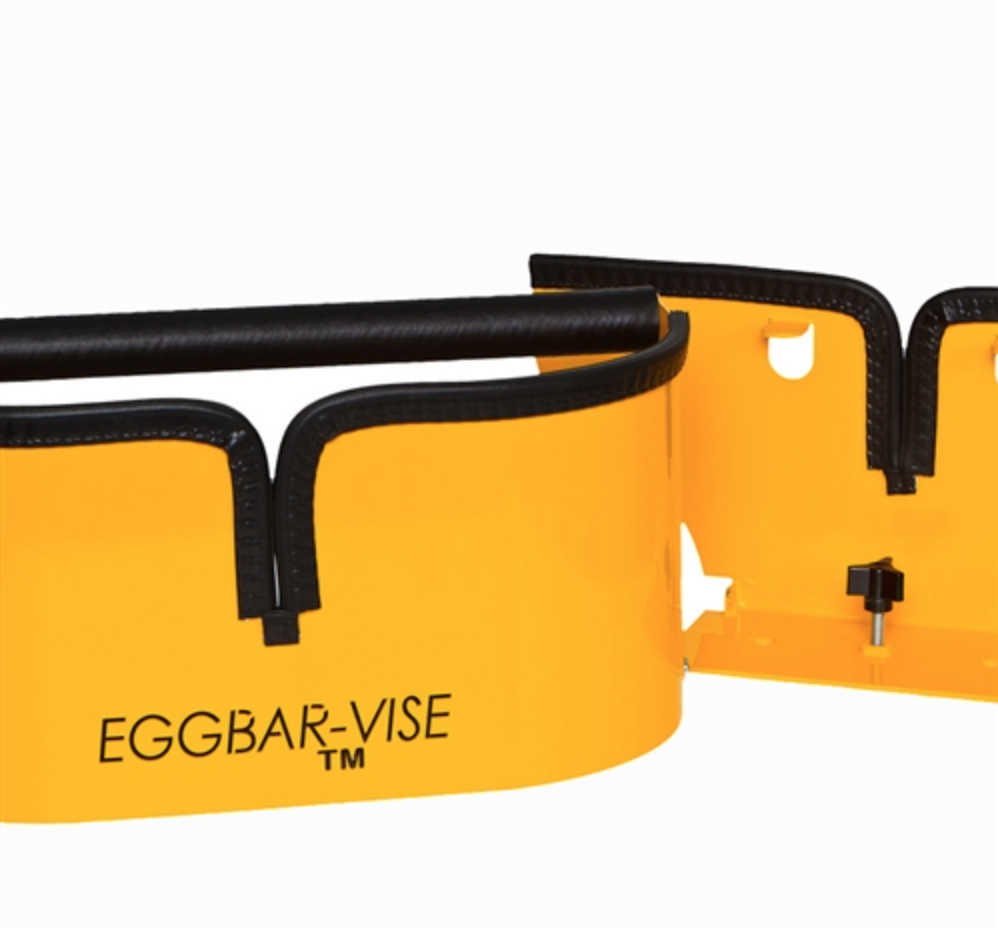 Double-Wide Eggbar-Vise for Skis and Snowboards