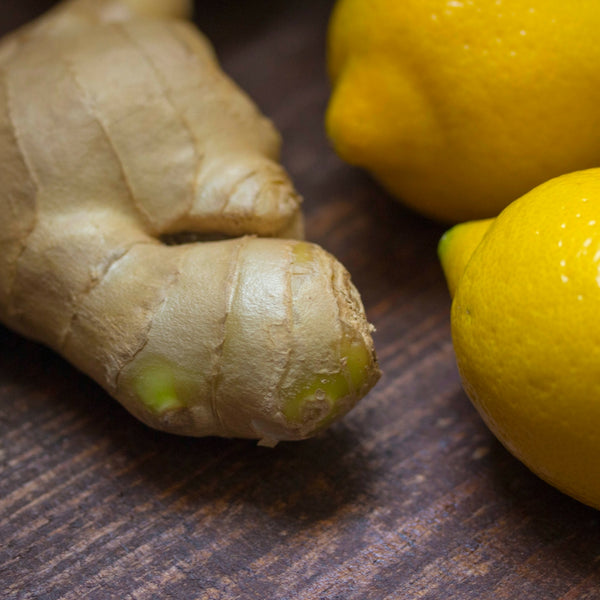 Creative Cleansing: Ginger and Lemon Iced Tea!