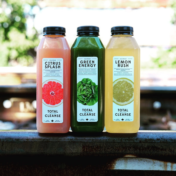 Get Back on Track This Fall with Some Freshly Cold Pressed Juice