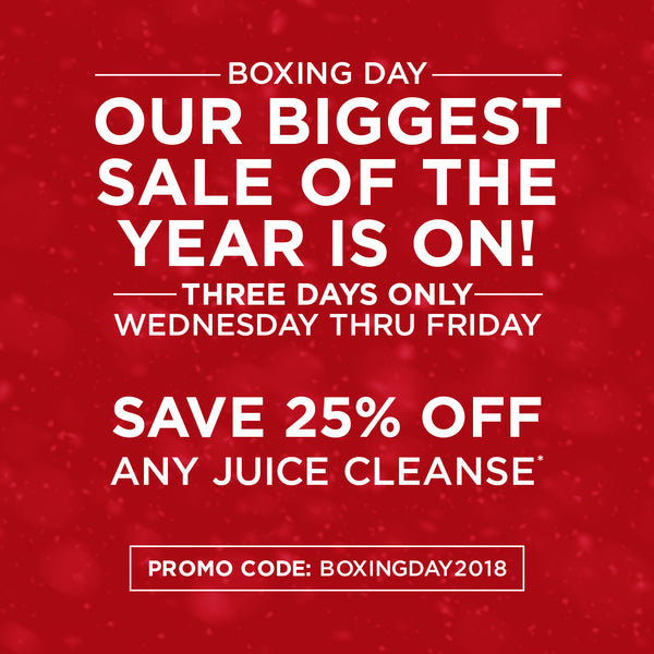 BOXING DAY 2018: Our Biggest Sale of the Year!