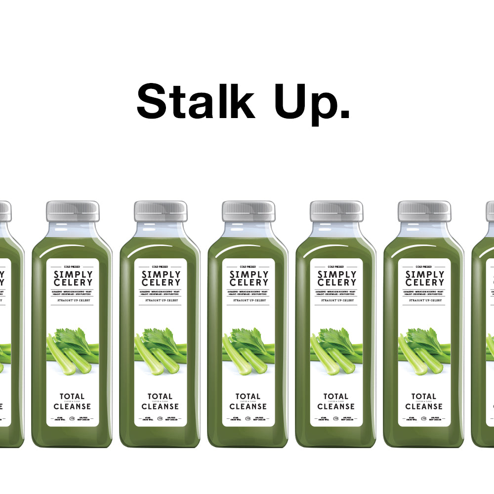 Stalk Up on CELERY Juice! – Total Cleanse