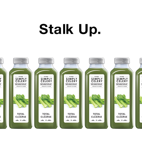Try a Week's Worth of CELERY Juice on us!