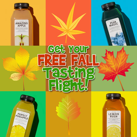 Get Your FREE FALL Tasting Flight!