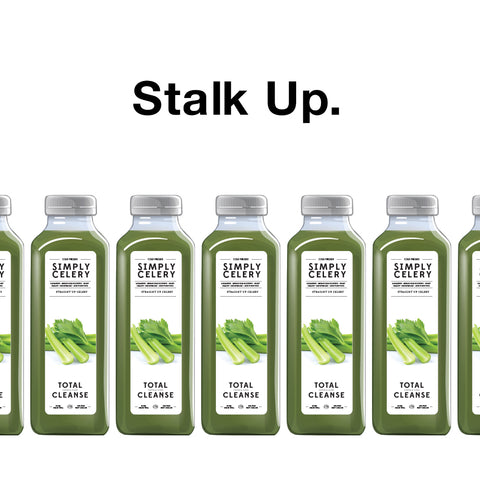 Stalk Up on CELERY Juice!