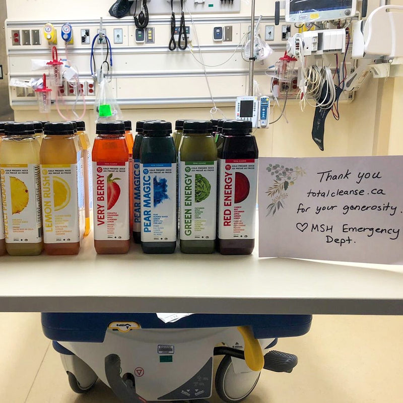 Donate Juices to our Frontline workers
