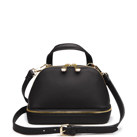 August Mini Satchel, Black