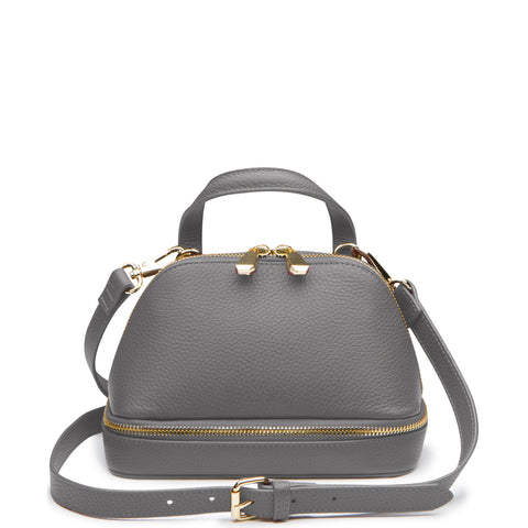August Mini Satchel, Storm
