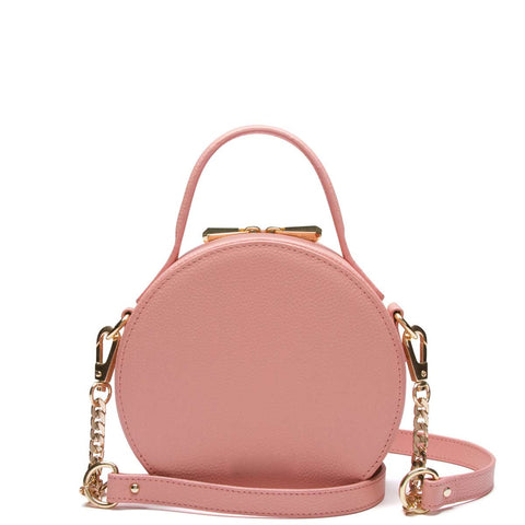 Bowie Circle Bag, Blush