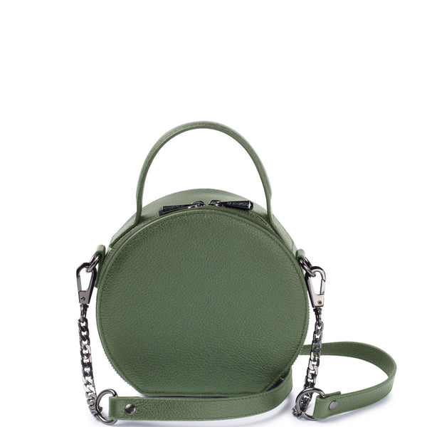 Bowie Circle Bag, Olive