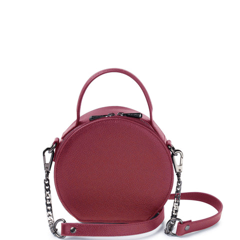 Bowie Circle Bag, Port