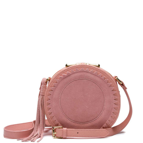 Raye Circle Bag, Blush