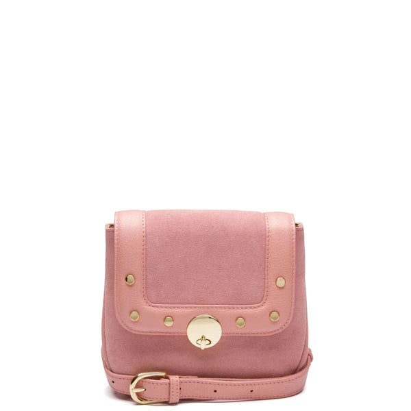 Remi Studded Hip Belt, Blush