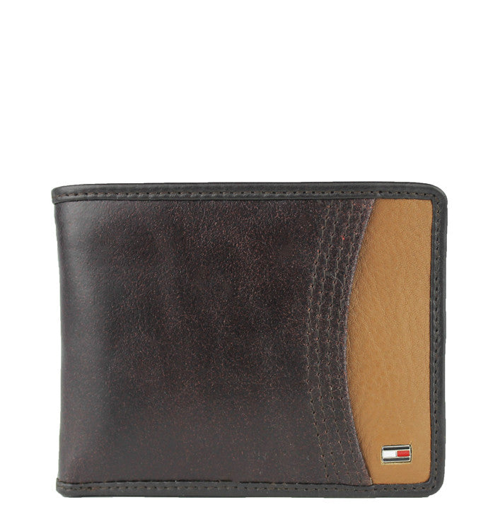 LEATHER DOUBLE PASSCASE WALLET
