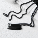 Vitaly Design Butcher x Stainless Steel Chain Weapon Necklace Pendant