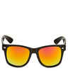 Colorful Mirror Lens Wayfarer Sunglasses
