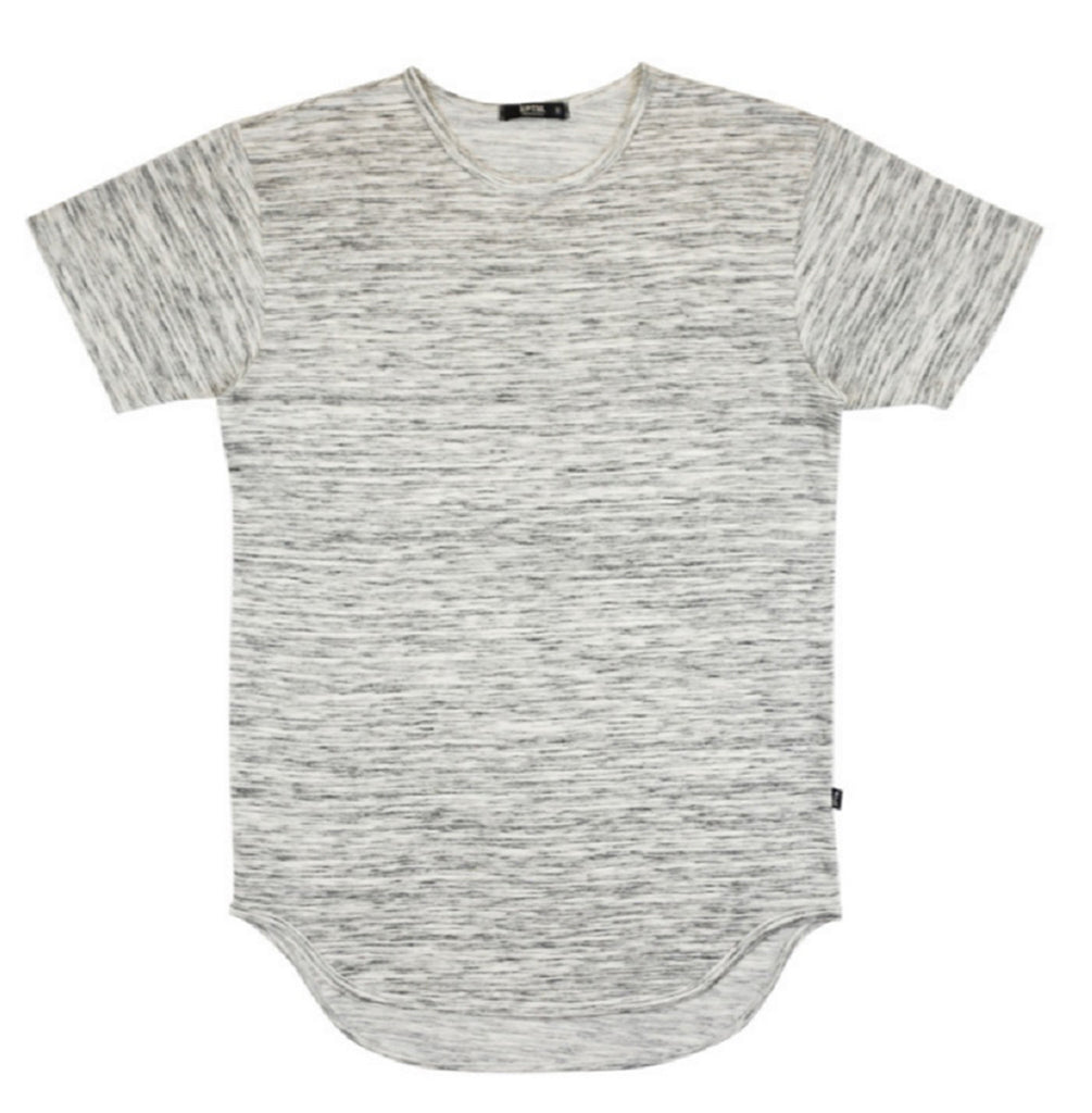 MARBLE GRAY ELONGATED T-SHIRT