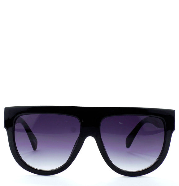 "Flat Top Celebrity Fashion Designer ""Shadow"" Sunglasses"