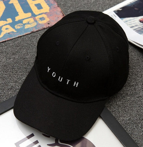 "New Unisex Dad Cap ""Youth"" Pink"