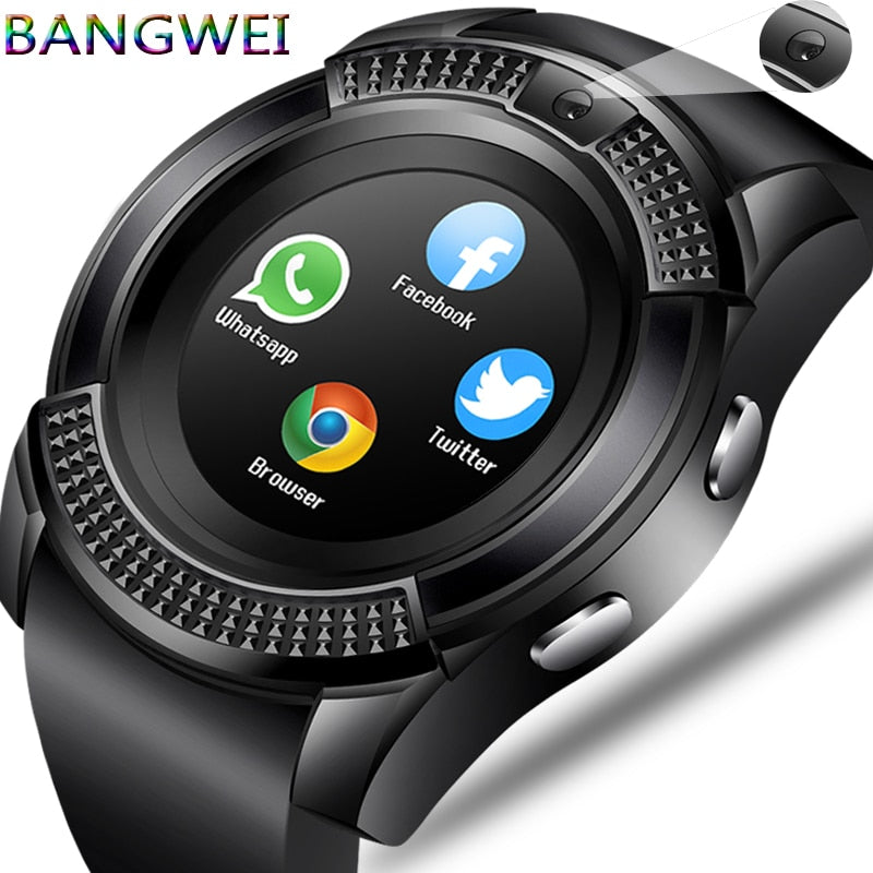 Unisex Smart Watch WristWatch Support With Camera Bluetooth SIM TF / Android