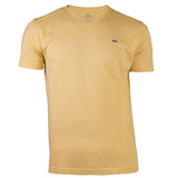 LACOSTE MEN'S HAY COTTON ATHLETIC V-NECK T-SHIRT