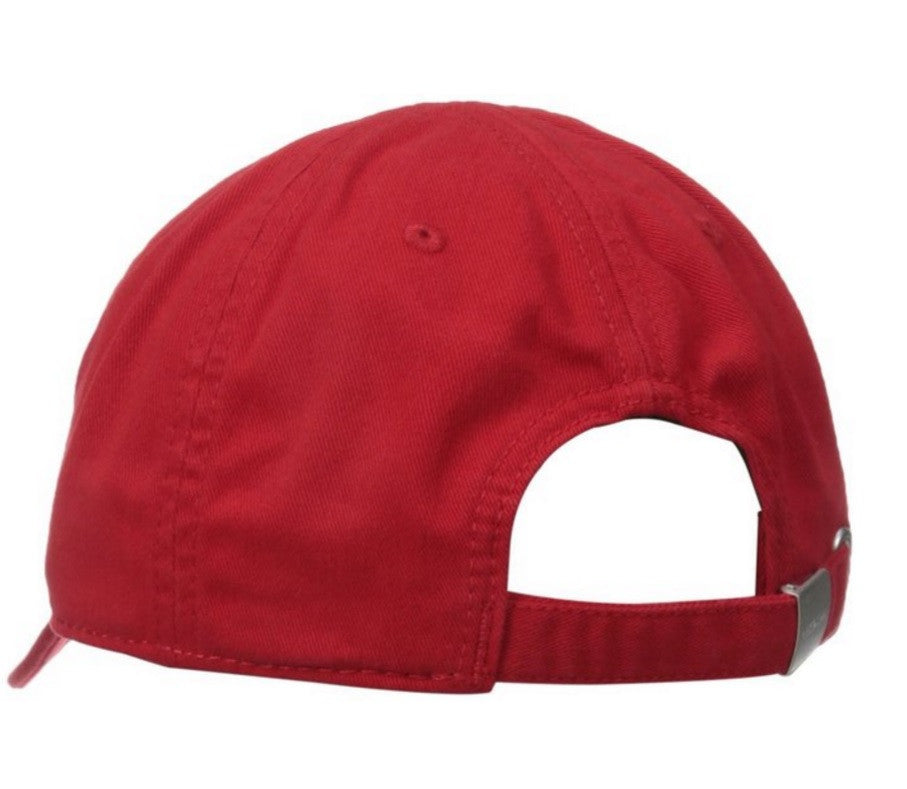 LACOSTE PREMIUM COTTON GABARDINE ADJUSTABLE CAP