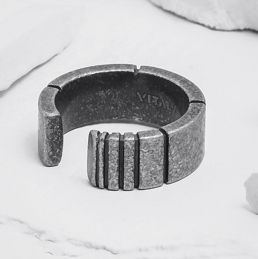 Vitaly Design Sector x Stainless Steel Round Ring