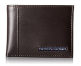 BROWN LEATHER BILLFOLD WALLET