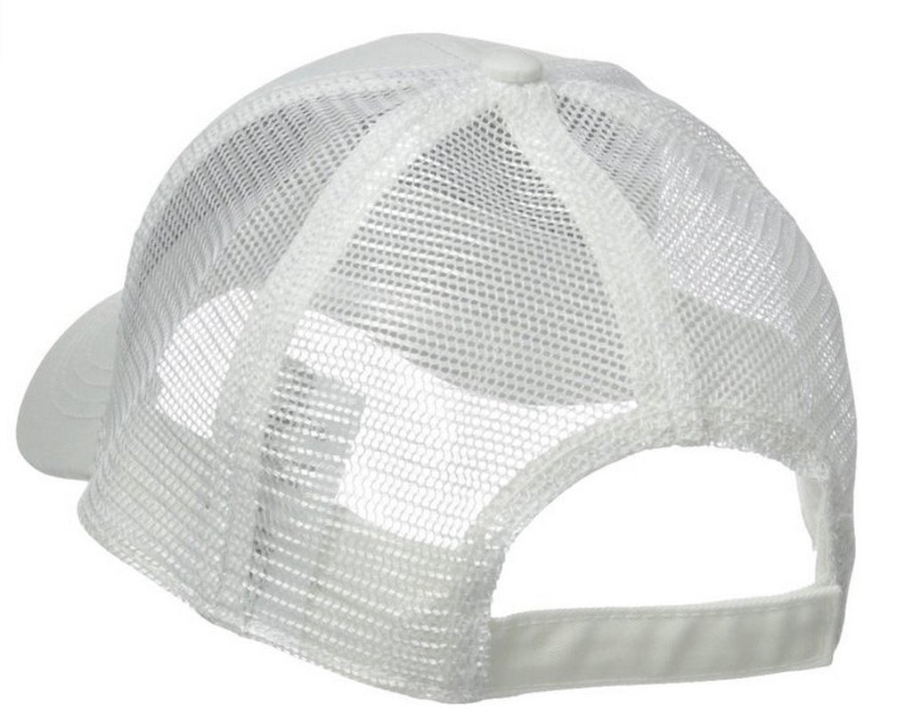 UNISEX ADJUSTABLE VELCRO HAT / WHITE