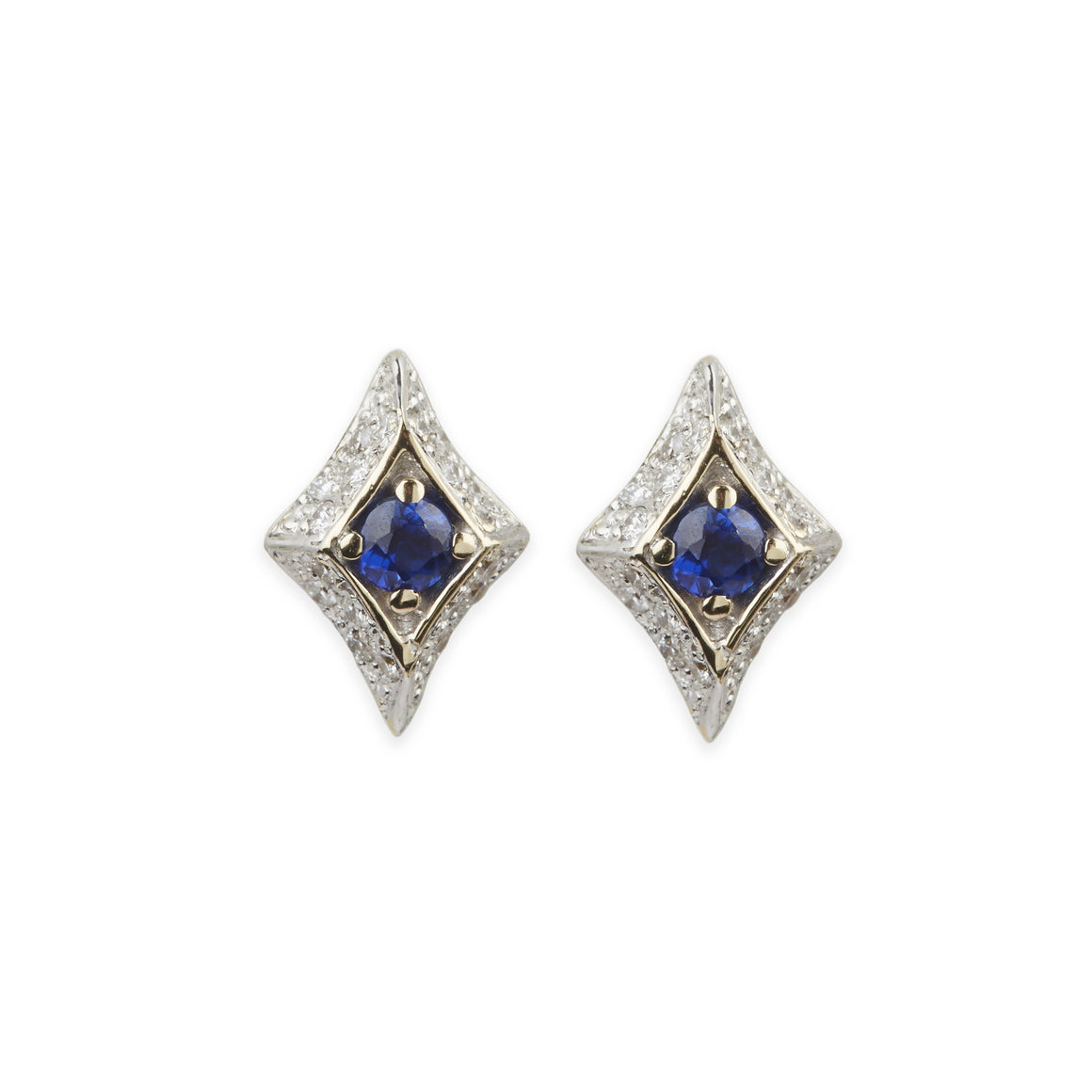 Royal Snake Pave Earrings