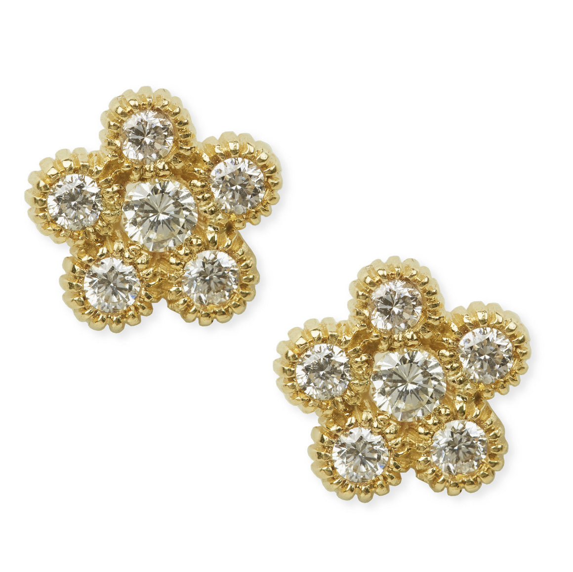"Diamond ""Flora"" Earrings"