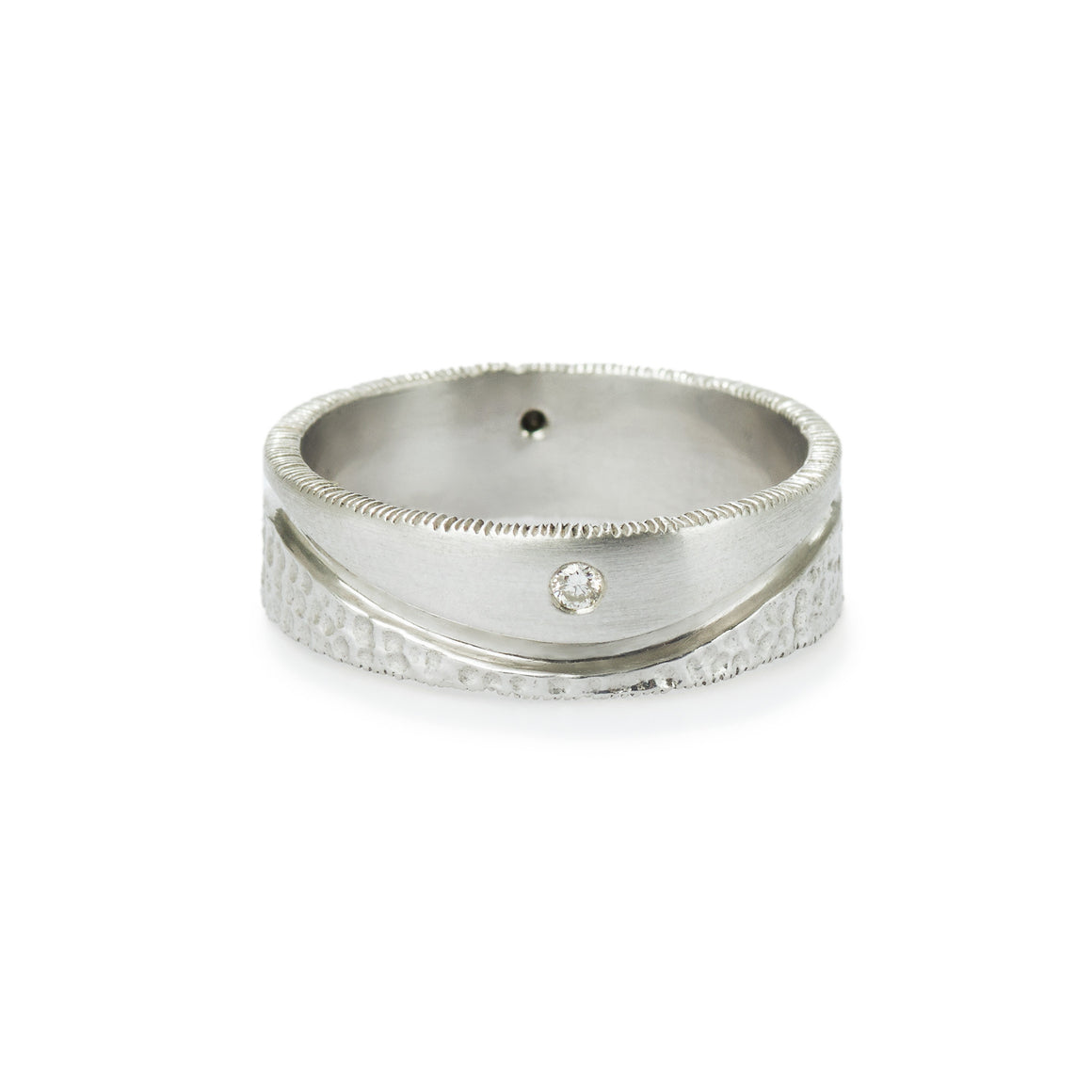Silver Men's Duality Ring
