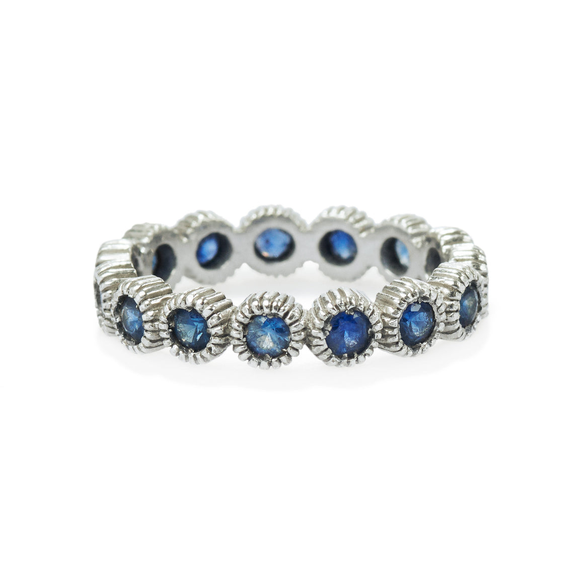 Youth Eternity Sapphire Ring