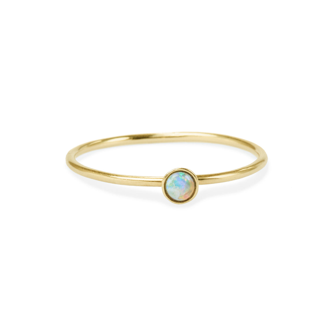 Opal Friendship Ring
