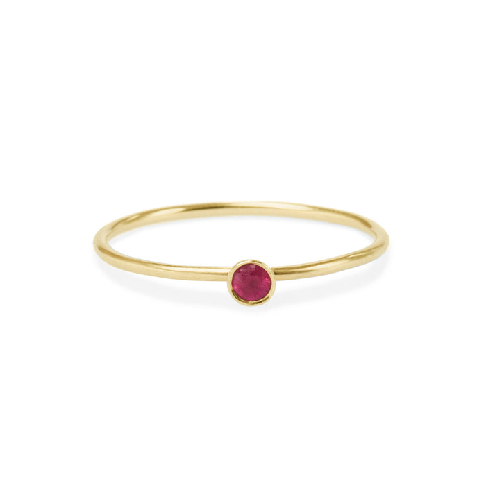 ruby friendship ring