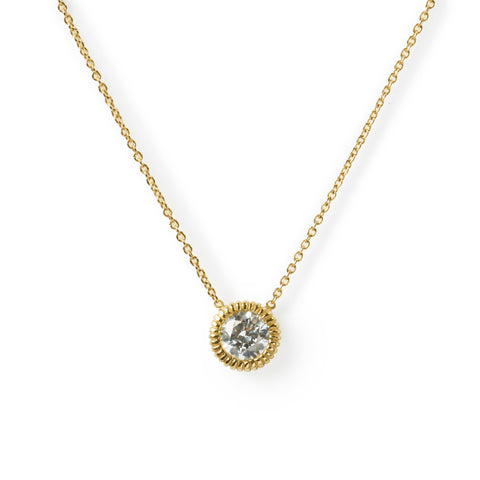 Large youth diamond necklace