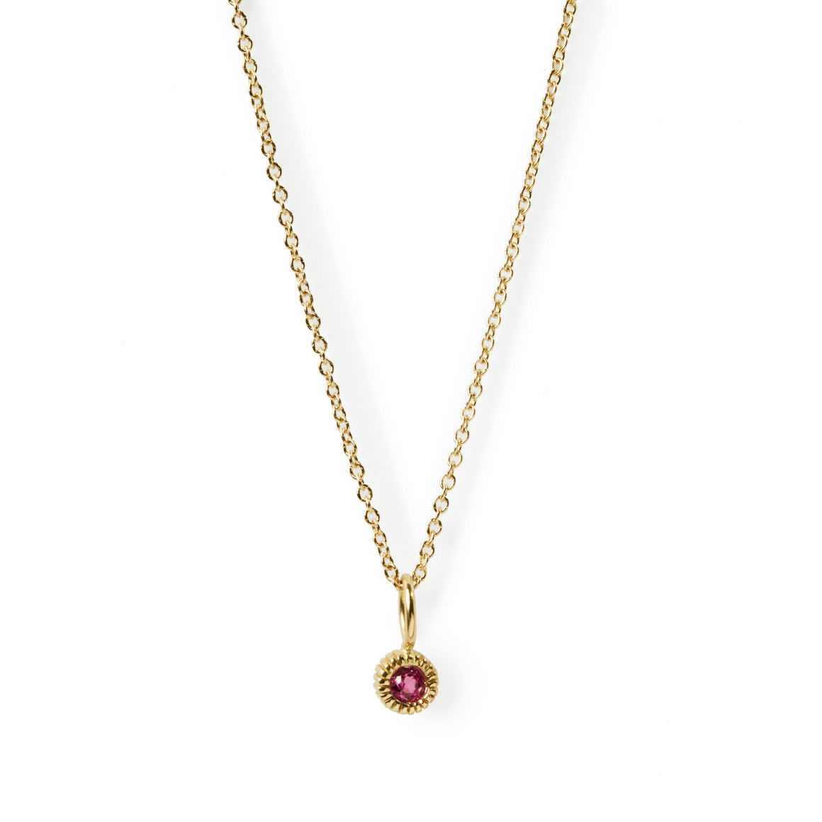 Youth Pink Tourmaline Necklace