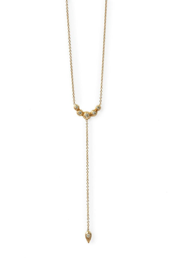 primavera lariat necklace