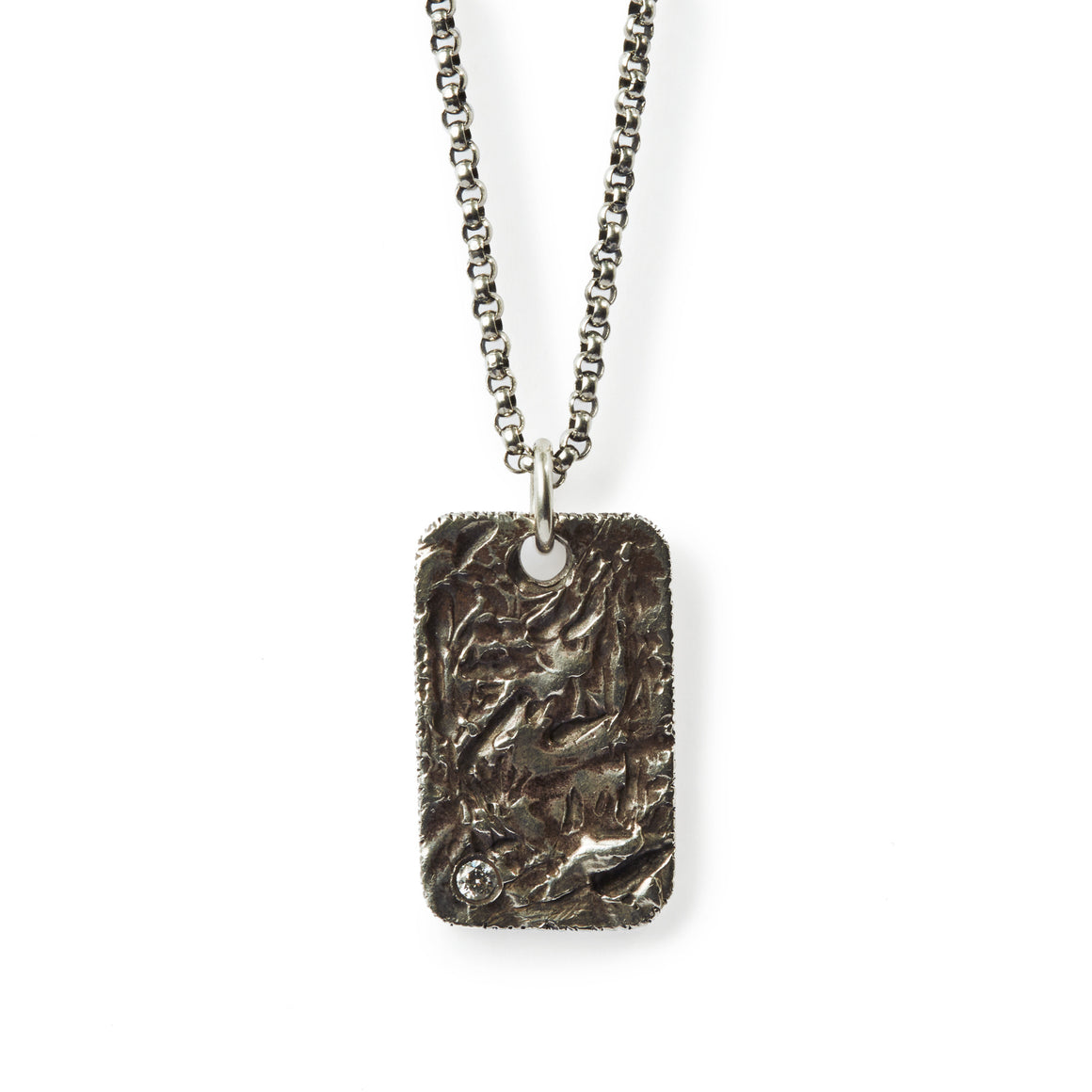 TEXTURED DOG TAG